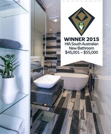 HIA awar best new bathroom $45,001 to $55,000