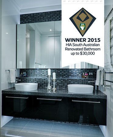 HIA award best renovated bathroom up to $30,000