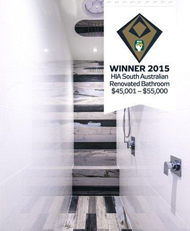 HIA Award best renovated bathrrom $45,001 to $55,000