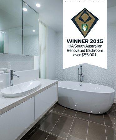 HIA award best renovated bathrrom over $55,001