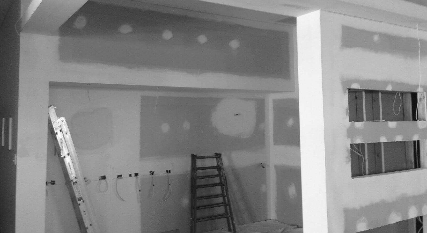 work in progress - kitchen renovation
