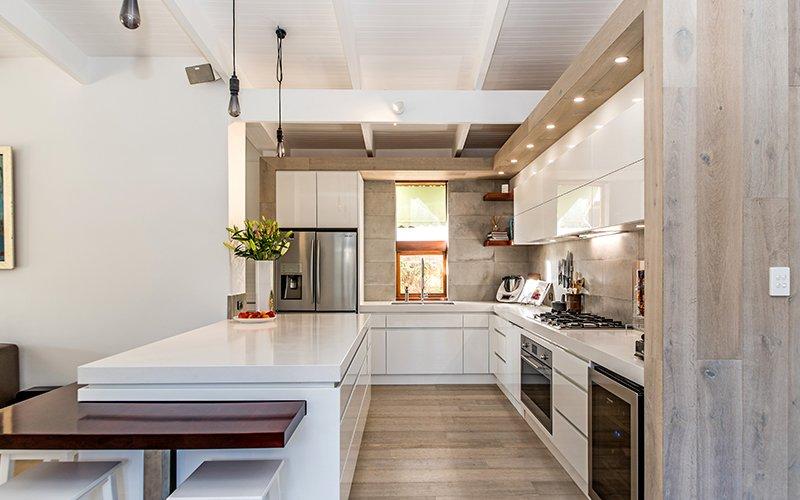 fancy indoor kitchen