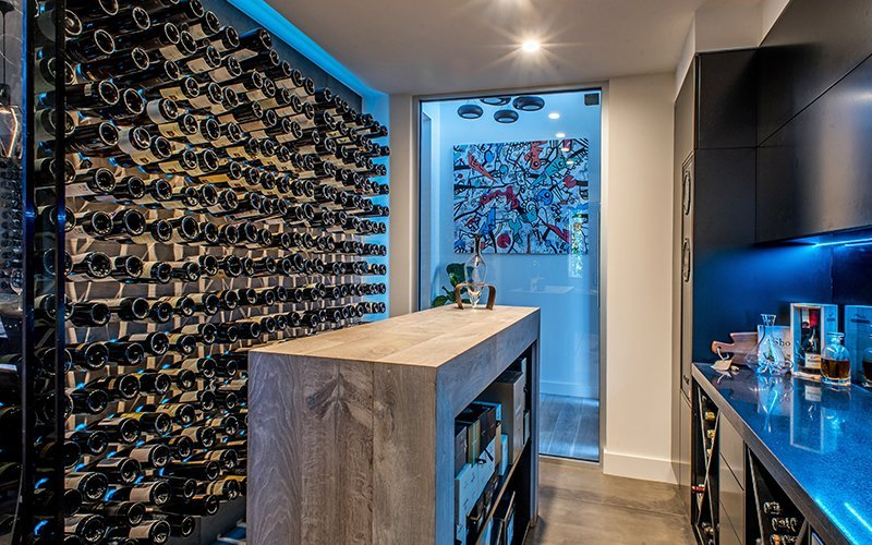 wine cellar upgrade