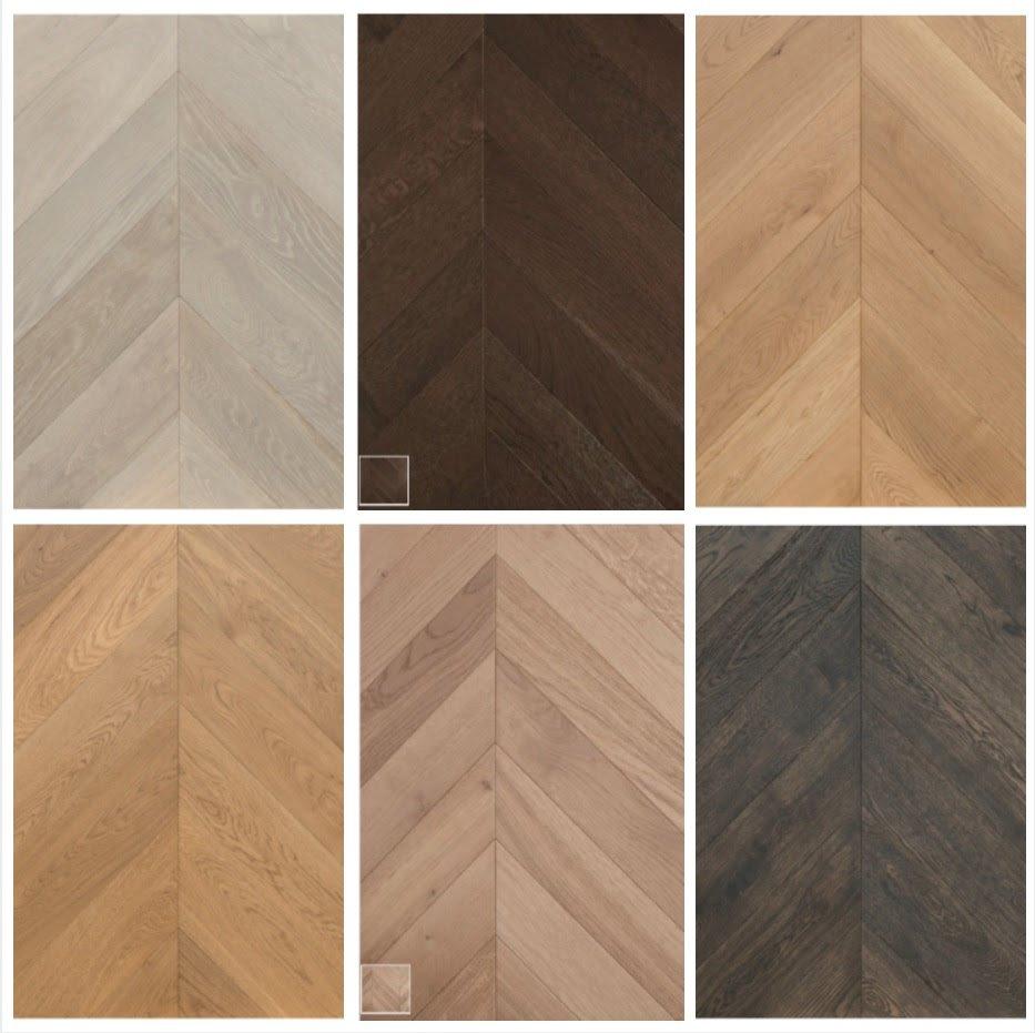 Chevron Flooring selection